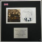 THE CORRS - CD Album Award - FORGIVEN NOT FORGOTTEN